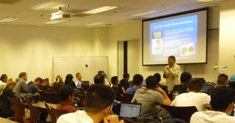 UNICOM Global CEO is Professor for a Day at CSUN image